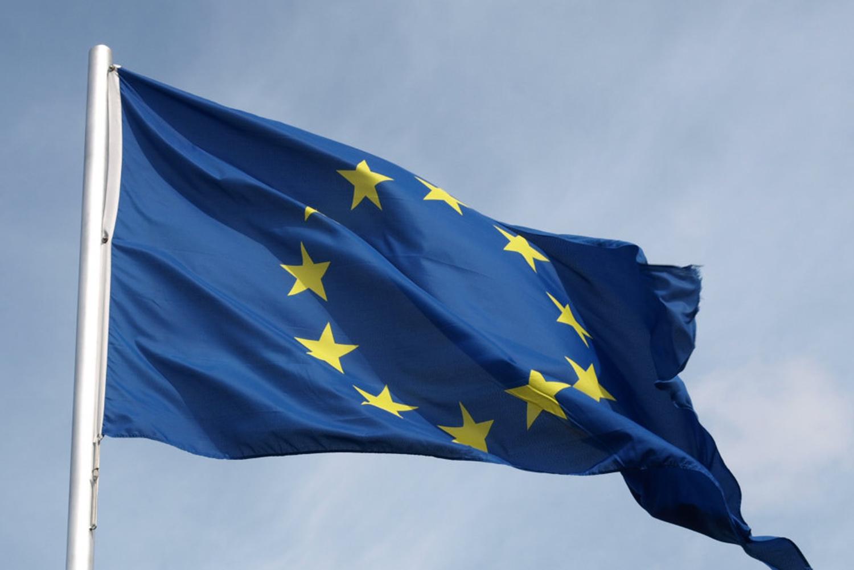 Foto van vlag Europa