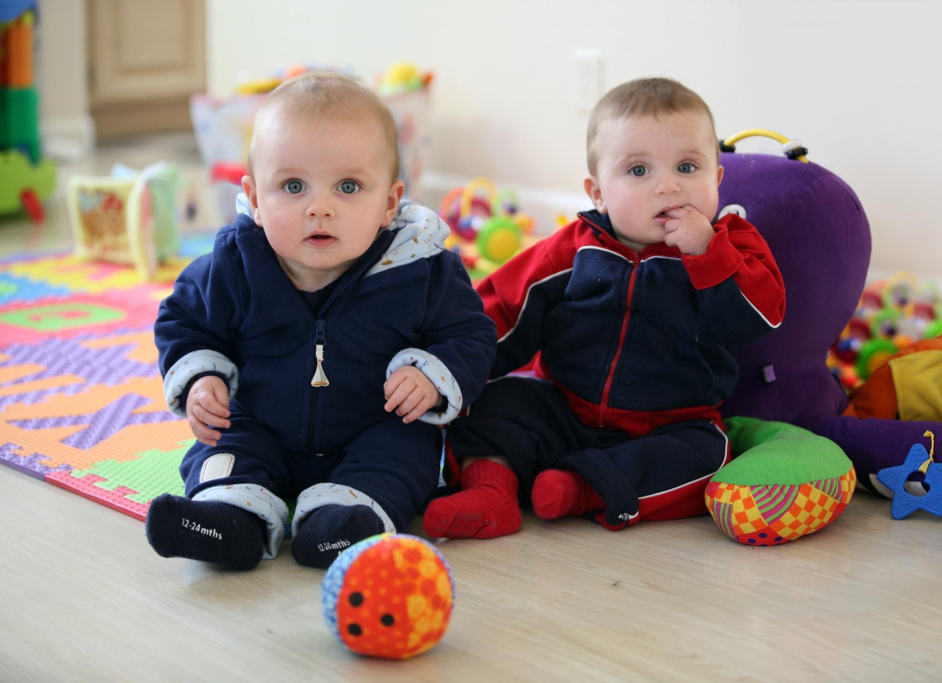 Baby's op kinderopvang