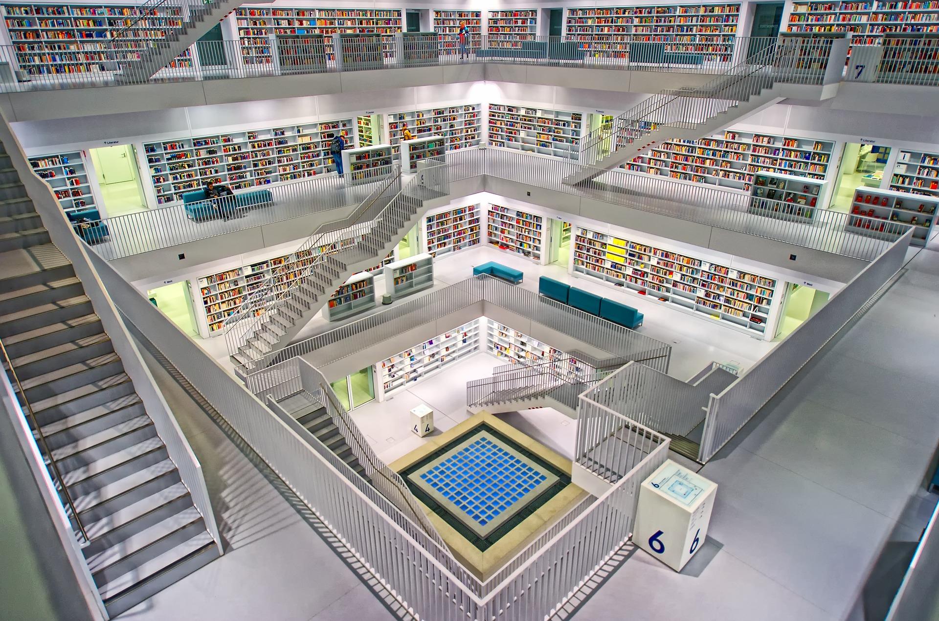 Foto van bibliotheek