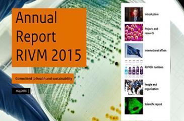 Cover Annual Report 2015 RIVM