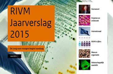 Cover Jaarverslag RIVM 2015