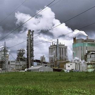 beeld van fabriek