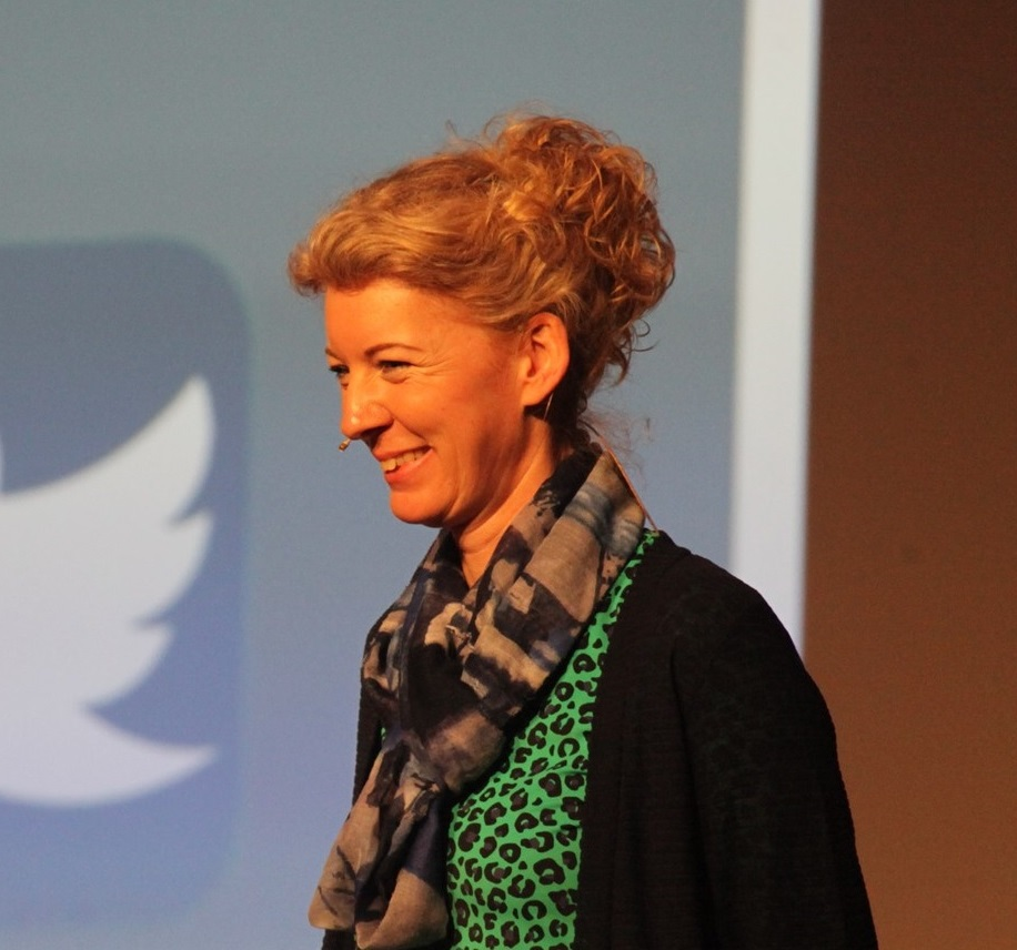 Viola van Guldener als dagvoorzitter NVVK-congres